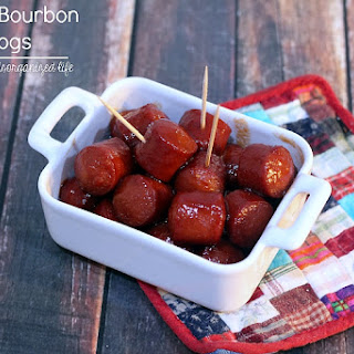 Tangy Bourbon Dogs.
