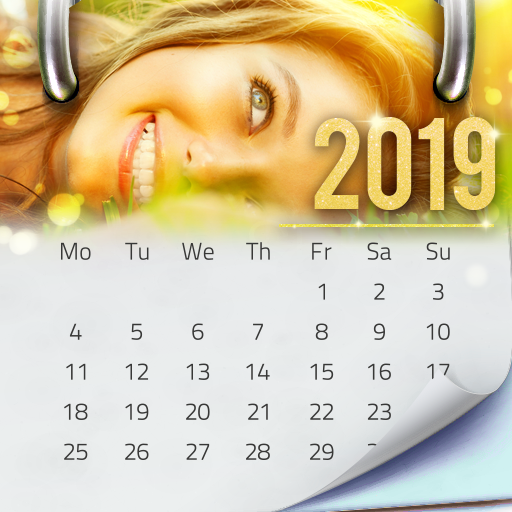 Photo Calendar Maker 2019 Icon