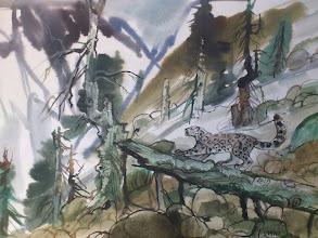 Photo: Ludvík Kunc - akvarel č. 17