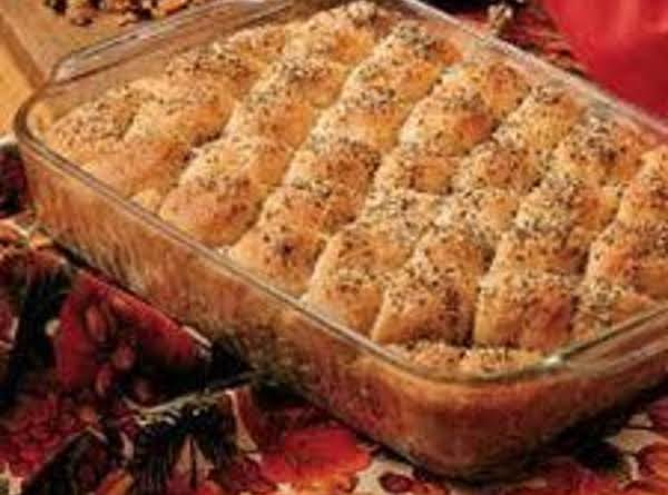 Herbed Oat Pan Bread Recipe