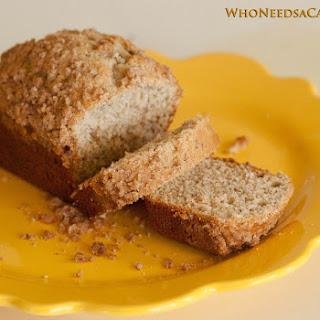 Sour Cream Crumb Banana Bread