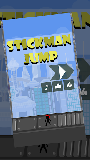 Subway Stickman Jump