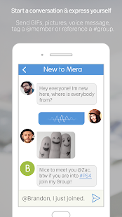 Mera - Group chat messenger- screenshot thumbnail