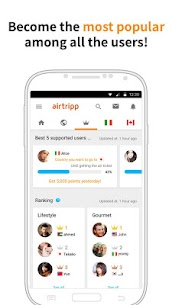 Airtripp:Free Foreign Chat App Download For Android and iPhone 6