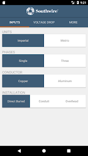 Southwire voltage drop android apps on google play southwire voltage drop screenshot thumbnail greentooth Image collections