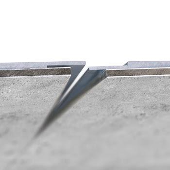 Profilé de jonction invisible pour panneau muraux DecoDesign