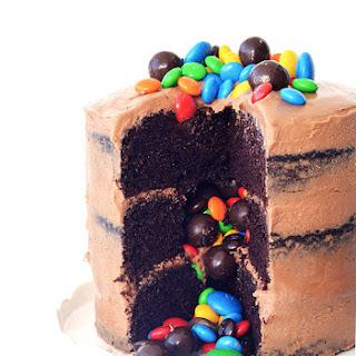 Chocolate Pinata Party Cake