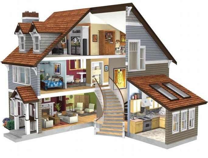 3d home designs layouts android apps on google play for Modern kit home designs