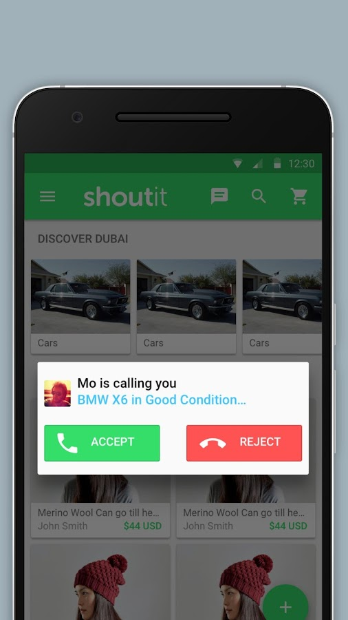 Shoutit - Buy & Sell on Chat- screenshot