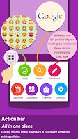 Screenshot of ai.type keyboard Free + Emoji