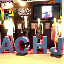 Photo: Display at the World Boutique, representing the 4 designers for the Fashion Extravaganza show