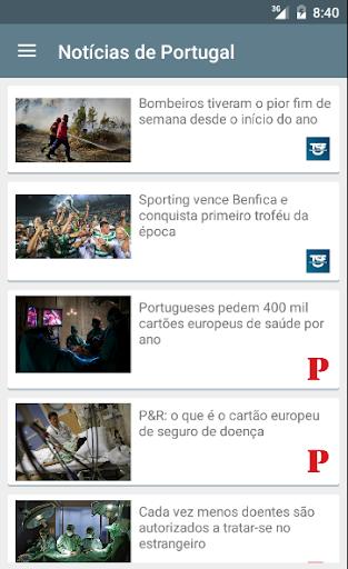 Notícias de Portugal