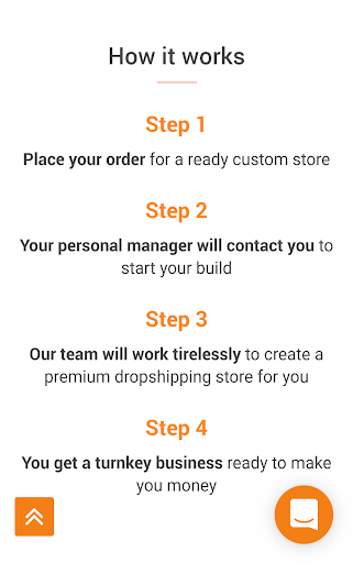 Screenshot for AliDropship - Make Money Dropshipping Business in United States Play Store