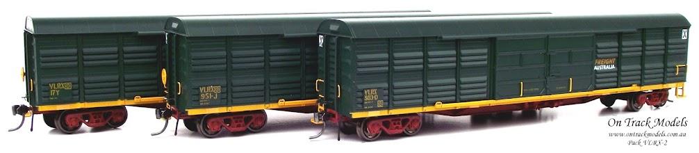 Photo: Pack VLRX-2 - Freight Australia VLRX 803D, VLRX 951J, & VLRX 17Y