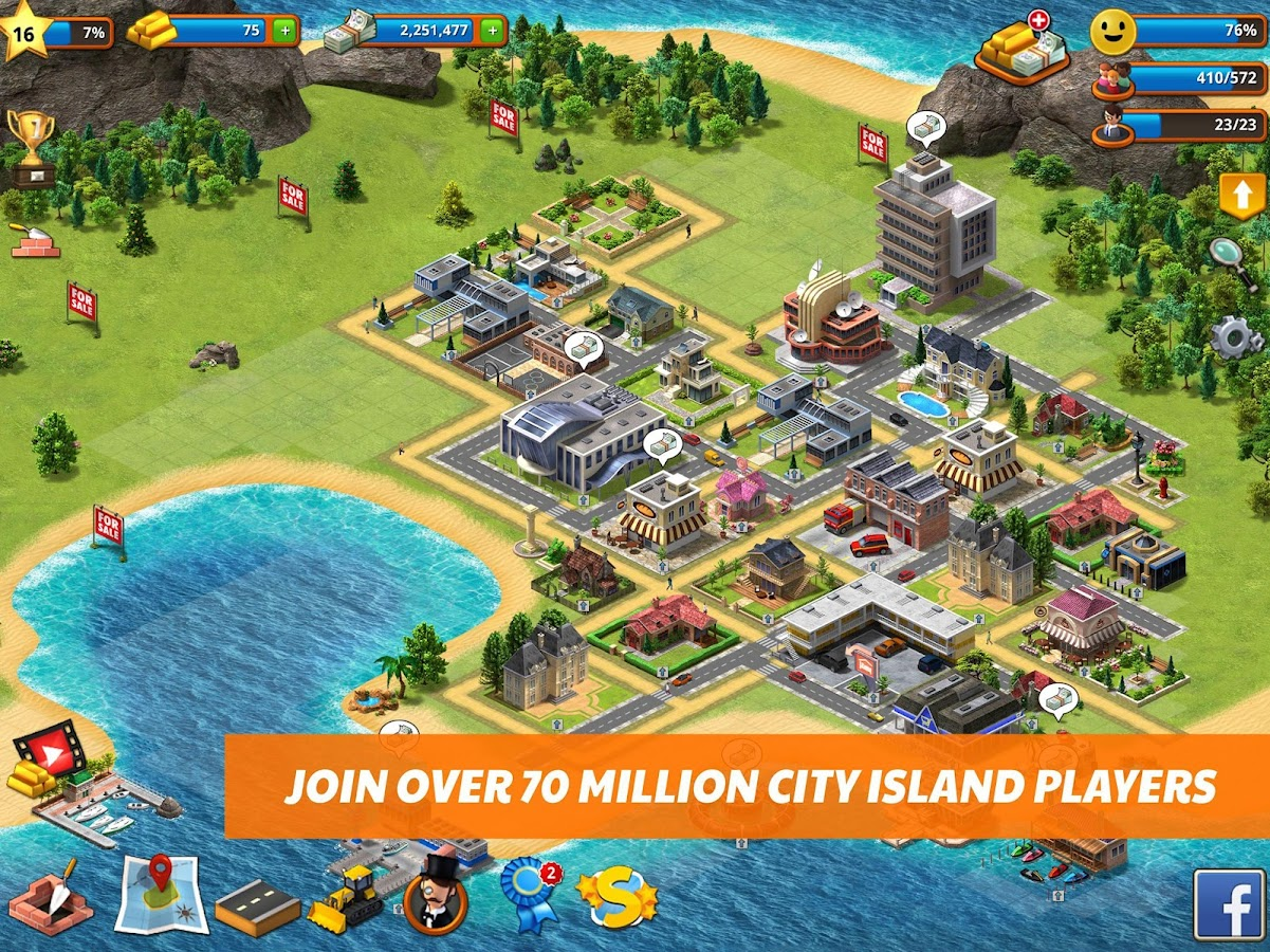 Tropic Paradise Sim: Town Building City Island Bay- screenshot