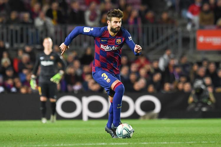 """Gerard Piqué pessimiste sur les chances du FC Barcelone : """"Le titre ne dépendra plus de nous"""""""