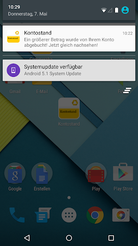 android Commerzbank Kontostand Screenshot 0