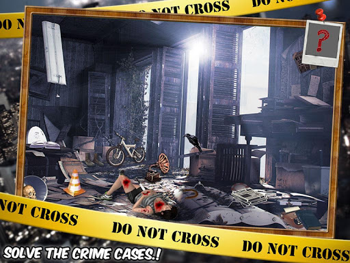 Murder Mystery Crime Scene