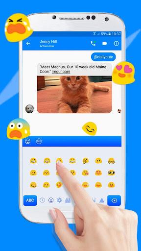 Keyboard Theme for Facebook Messenger 10001002 screenshots 5