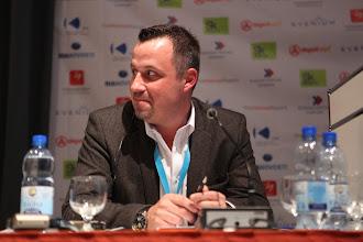 "Photo: Franco Gullotti - moderator - ""Latest Trends for Comms Consultancies"" Panel - 2012"