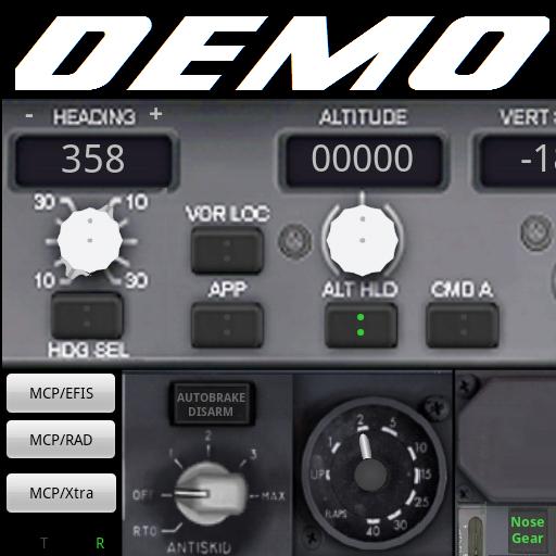 PWB737 MCP EFIS RADIO FSX Demo - Apps on Google Play