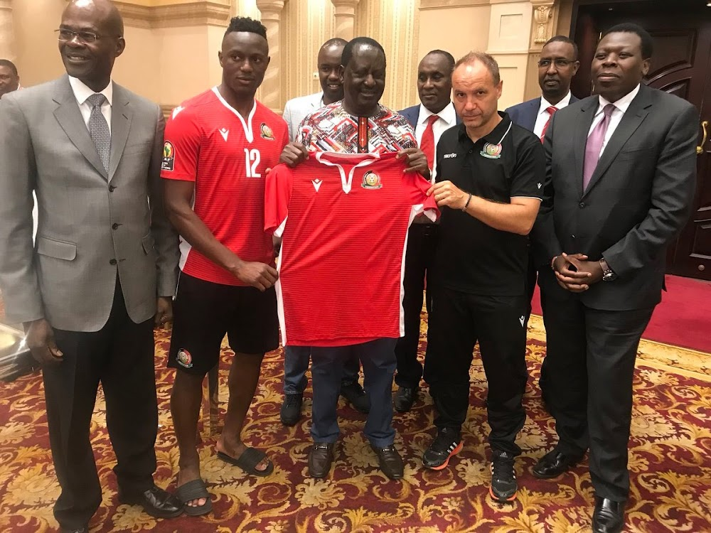 KOT roast Raila after visiting Harambee Stars in Egypt