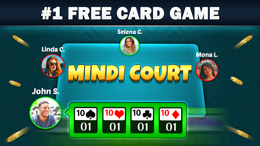 Mindi - Desi Indian Card Game Mendi with Mendikot screenshots 2