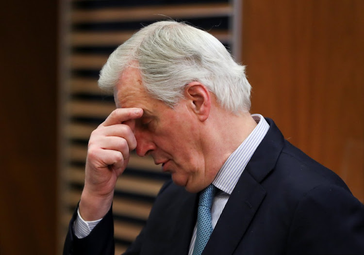EU's chief Brexit negotiator Michel Barnier in Brussels, Belgium, on March 6 2019. Picture: REUTERS/YVES HERMAN