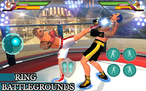 Royal Wrestling Cage: Sumo Fighting Game 1.0 screenshots 5