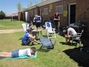 Photo: El ayuntamiento de Osorno nos cedió las instalaciones para albergue.