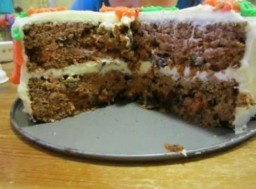 """Super Moist Carrot Cake! """"This was so moist and delicious! I made..."""