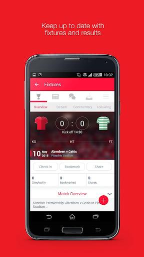 Fan App for Aberdeen FC