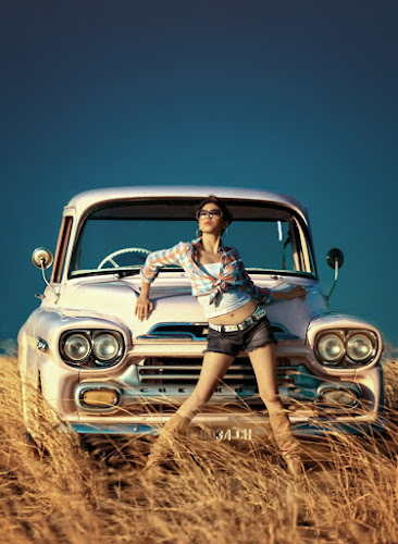 .: Queen of Chevy :. by Garenk Ulunger - People Fashion ( car, fashion, vintage )