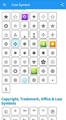Text Symbol Picture : symbol, picture, Download, Fancy, Symbol, Android, STEPrimo.com