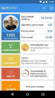 Quit smoking - QuitNow! screenshot 00
