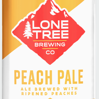 Logo of Lone Tree Peach Pale Ale