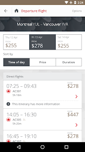 Air Canada - Apps on Google Play
