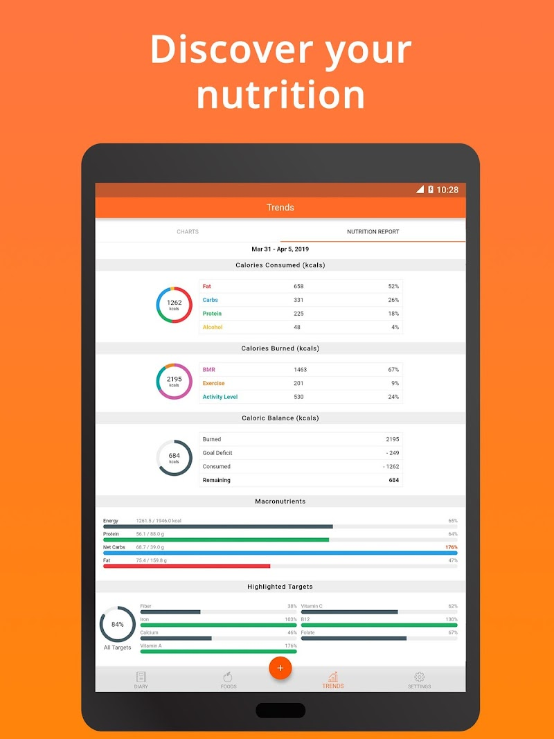 Cronometer – Nutrition Tracker (ad free) Screenshot 9