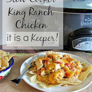 Crock Pot King Ranch Chicken Casserole