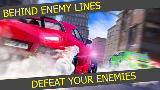 Driving Car vs Free Falling Car Racing Stunts screenshot 1