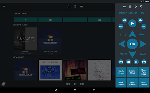 Music Pump XBMC / Kodi Remote- screenshot thumbnail
