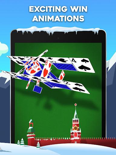 Yukon Russian u2013 Classic Solitaire Challenge Game 1.2.0.265 screenshots 10