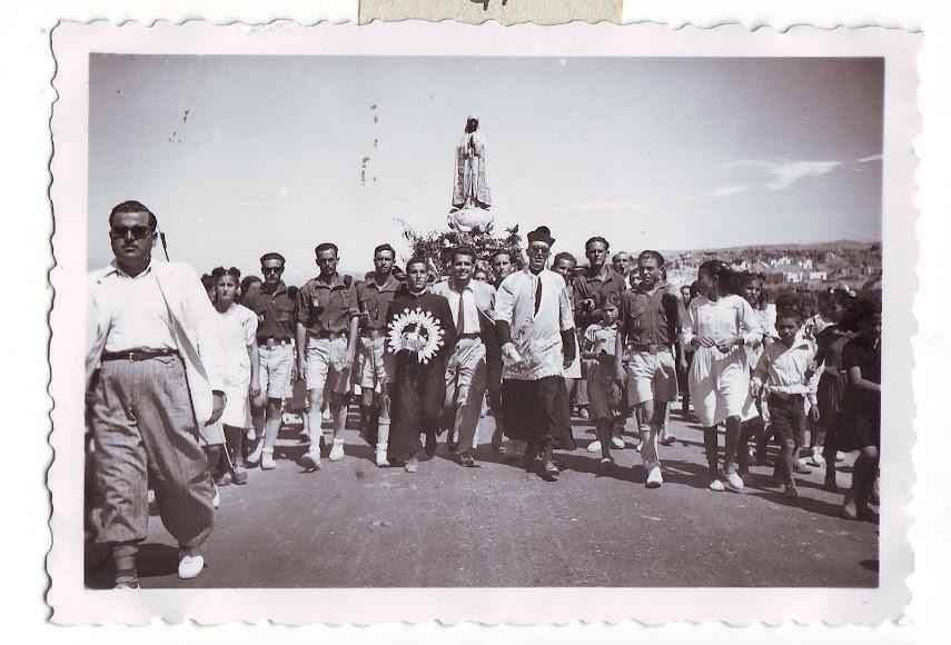 Peregrinación de la Virgen de Fátima por toda la provincia de Almería en agosto de 1948 (Foto: Colección Museos de Terque).