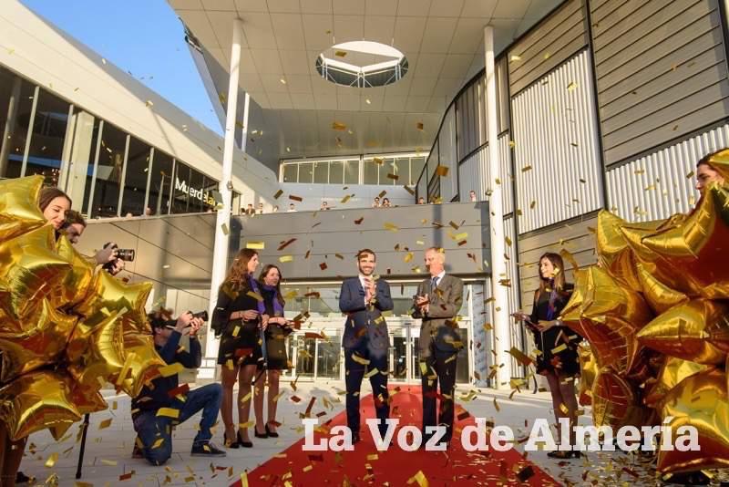 Inauguración del Centro Comercial Torrecárdenas