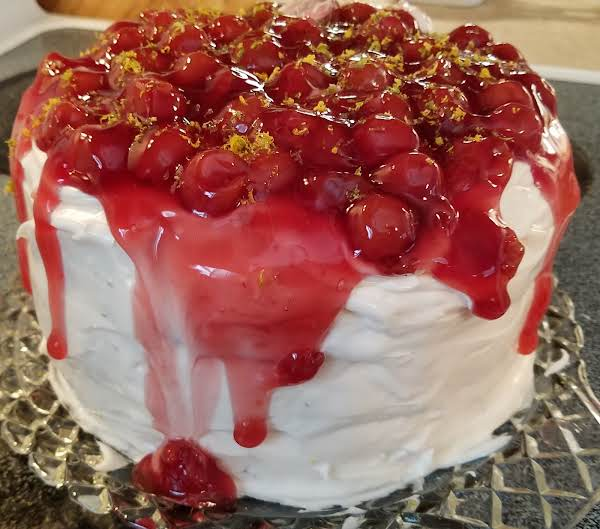 Cherry Lemon Limeade Cake Recipe