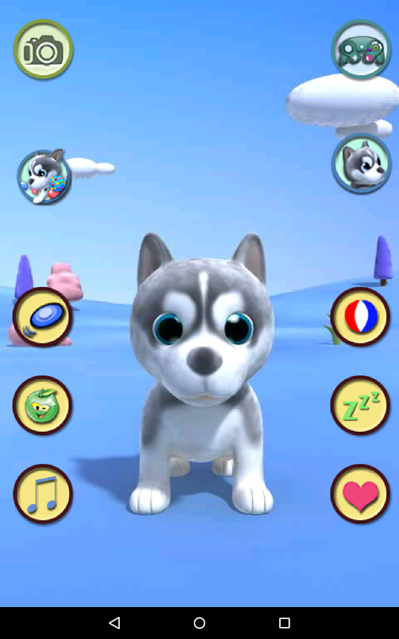 Talking Puppy- screenshot