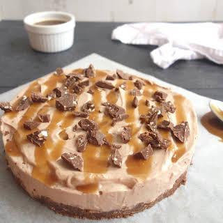 No Bake Chocolate Caramel Cheesecake Recipes.