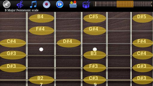 Guitar Scales & Chords Free Added Sustain option screenshots 5