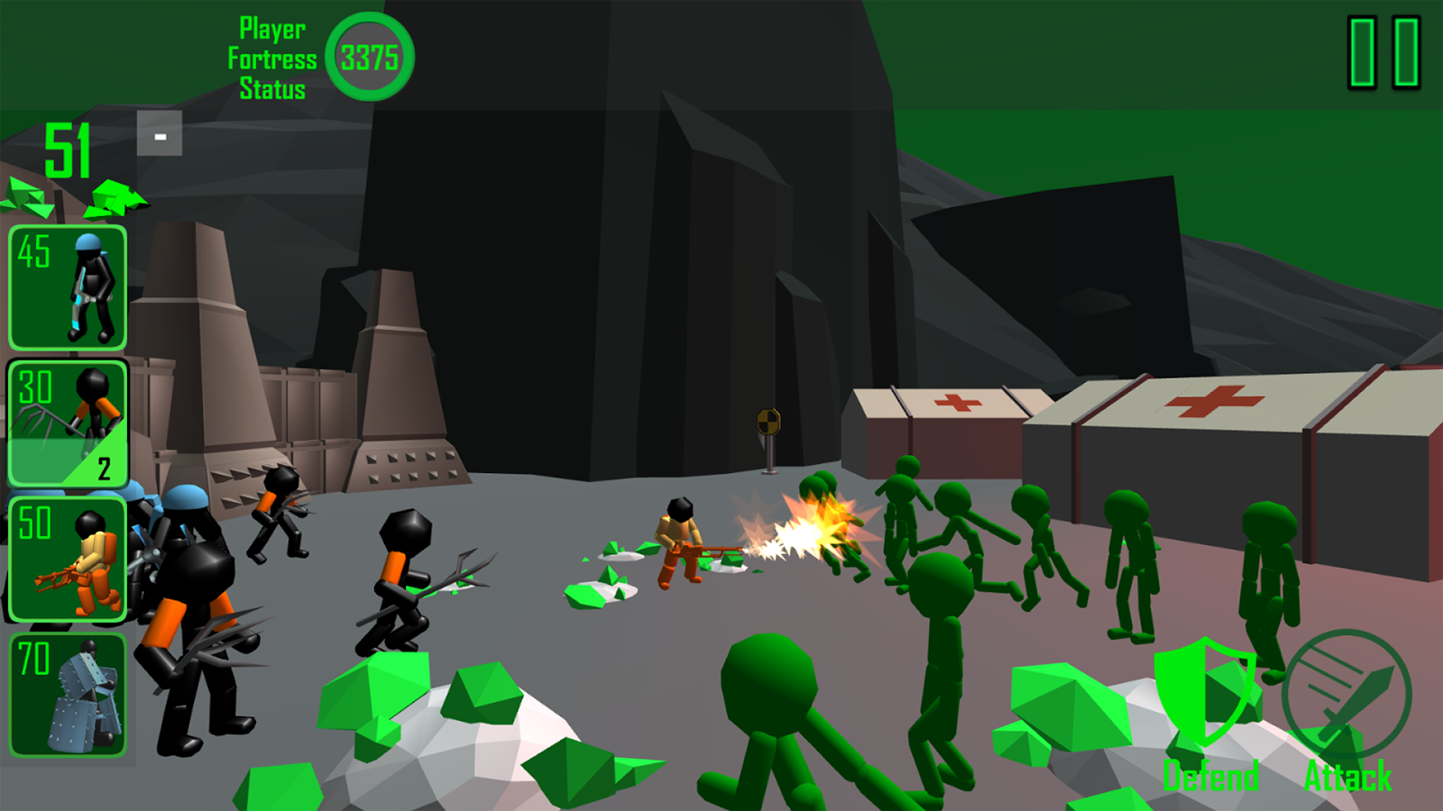 Stickman: Legacy of Zombie War- screenshot