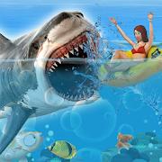 Shark Attack Games At The Beach